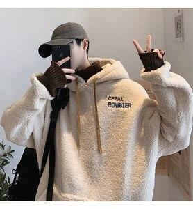Privathinker Thicken Plus Velvet Men Hoodies 2020 Autumn Winter New Men's Hooded Sweatshirts Man Streetwear Casual Pullovers