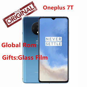 Global Rom Oneplus 7T 7t Cell phone Snapdragon 855 Plus Octa Core 90Hz AMOLED Screen 48MP Triple Cameras UFS 3.0 NFC