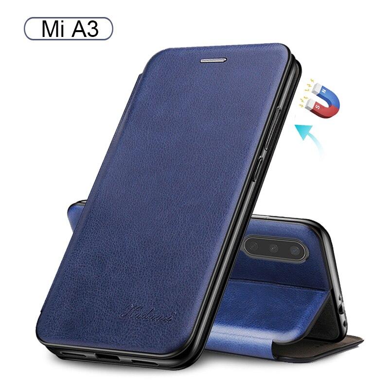 for xiaomi mia3 case Leather Flip Book Wallet Stand Phone Case on xiomi xaomi xaiomi mi a3 my a 3 xiaomia3 etui caso Cover