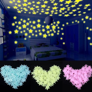 100pcs/set Glow in the Dark Toys Luminou