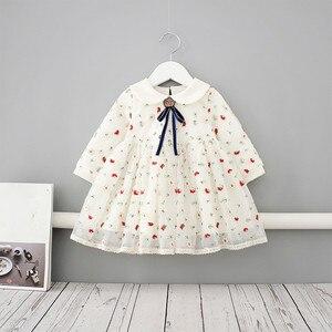 Vestido de princesa para niñas recién nacidas, vestido de fiesta de verano de 2020 con flores para bebés, Vestidos de 1ª cumpleaños, ropa para niños, Vestidos