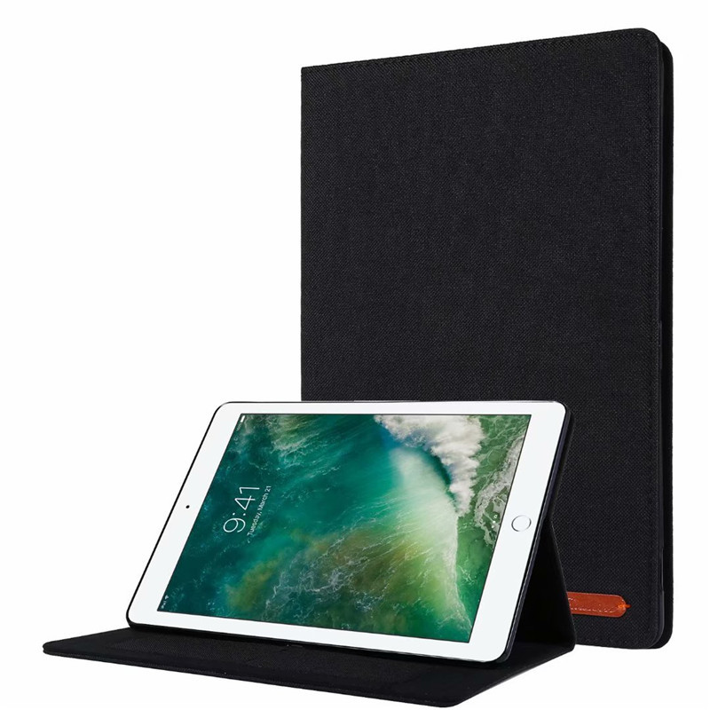 01 Black Beige Cover For iPad 10 2 2019 Luxury Leather Case For iPad 10 2 7 7th Generation