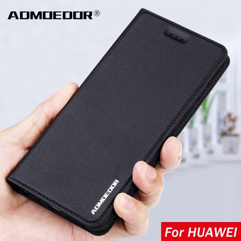 Кожаный флип-чехол для Huawei Y5p Y6p Y6s Y7p Y8p Y8s Y9s Y7a Y9a Y5 Y6 Y7 Y8 Y9 Prime 2018 P Smart Z Plus Pro 2019 2020