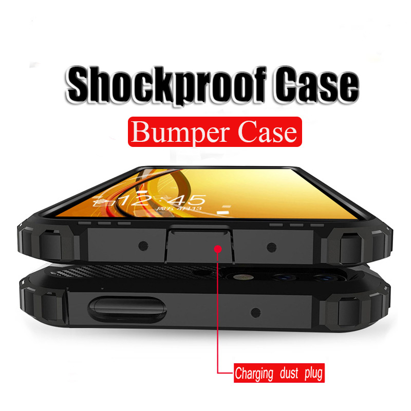 Luxury Shockproof Armor <font><b>Bumper</b></font> <font><b>Case</b></font> For <font><b>Oneplus</b></font> 7T Pro 5T <font><b>6T</b></font> 7 Cover Silicone Capa For <font><b>Oneplus</b></font> 6 7 Pro Phone Bag Soft Coque Note image