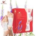 1 коробка, лавандовые детоксикационные патчи для ног, питательные восстанавливающие патчи для ног, улучшающие качество сна, патчи для похуд...