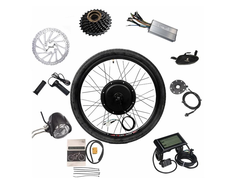 48V 1000W Ebike Kit avec pneu 16