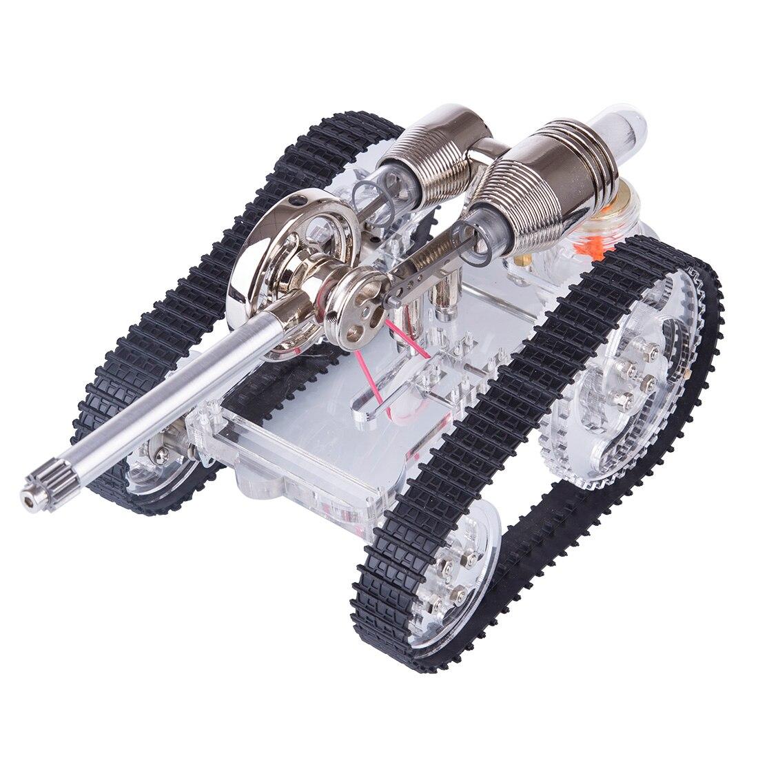 Танк Стирлинга Модель двигателя внешнего сгорания Модель двигателя строительный комплект