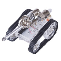 Tank Stirling Engine Model External Combustion Engine Model Building Kit