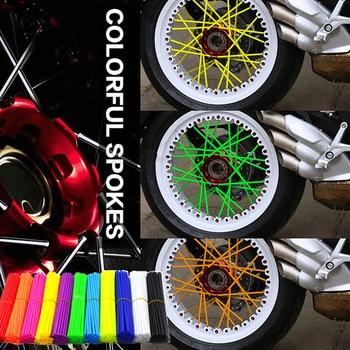 Accesorios de motocicleta 72 uds, cubierta de rueda de radios para Tdm 850 Paramanos Honda Cbr125R M109R Cb 1300 Ktm Exc