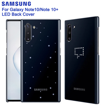 Samsung Original Intelligent LED Cover For Samsung Galaxy Note 10 Note10 Note X Note10 PLUS Emotional Led Lighting Effect фото