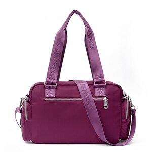Image 3 - Women Top handle Shoulder Bag Designer Handbags Nylon Female Messenger Bags Casual Shopping Tote Bolsas Sac A Main Crossbody Bag