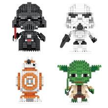 Disney Star Wars character building blocks Plastic mini building blocks Brain Games Toys Room decoration birthday gifts