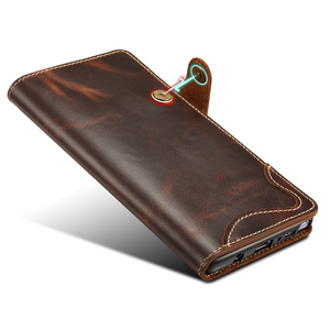 Image 3 - Genuine Leather For Samsung S20 Ultra Note 20 10 Plus 9 Case Wallet Flip Case for Samsung Galaxy S8 S9 S10 Plus Note 8 9 10 Case