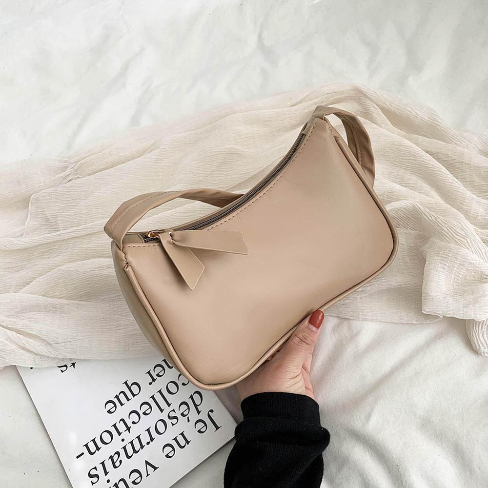Retro Shoulder Bag Vintage Handbag Hobos Bag for Women PU Leather Female Baguette Bag Subaxillary Mini Bolsa Bolsa Feminina2020 5