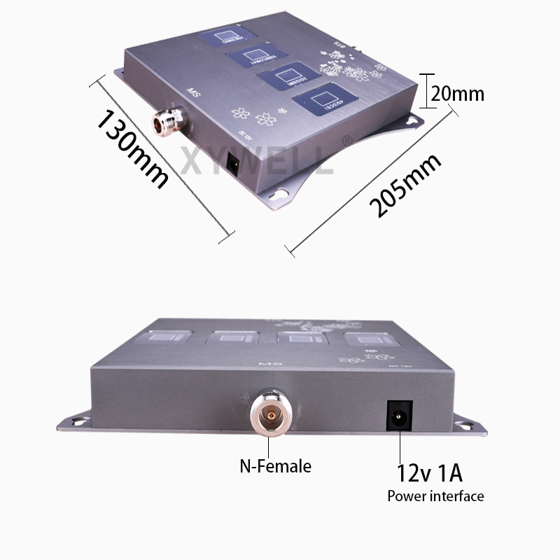 900/1800/2100/2600mhz Four-Band Cellular amplifier 4G 3G GSM Phone Signal Booster GSM DCS WCDMA LTE 2G 3G 4G Cellular Repeater 5