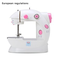 portable multifunction desktop mini electric sewing machine with light cutter small household appliances eat thick needle feed Practical Electric Sweing Tailor Small Household Electric Mini Multifunction Portable Sewing Machine