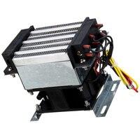 חשמלי תנורי חימום קבוע טמפרטורת תעשייתי PTC מאוורר דוד 300W 220V AC חממת אוויר מאוורר דוד ייבוש מכשיר-במגנטים של מחממי אינדוקציה מתוך כלים באתר
