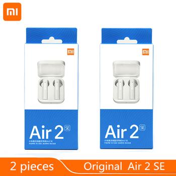 2 części partia oryginalny Xiaomi Air 2SE TWS Redmi AirDots 2 słuchawki douszne Mi prawdziwe bezprzewodowe słuchawki Bluetooth Air2 SE AirDots S tanie i dobre opinie Zaczepiane na uchu Dynamiczny CN (pochodzenie) Prawdziwie bezprzewodowe 123dB Do kafejki internetowej Słuchawki do monitora