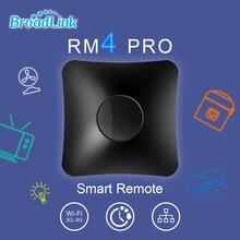 BroadLink RM4 פרו חכם אוניברסלי מרחוק IR & RF משדר עבור מזגן, טלוויזיה, מתג, וכו תמיכה Alexa ו google בית