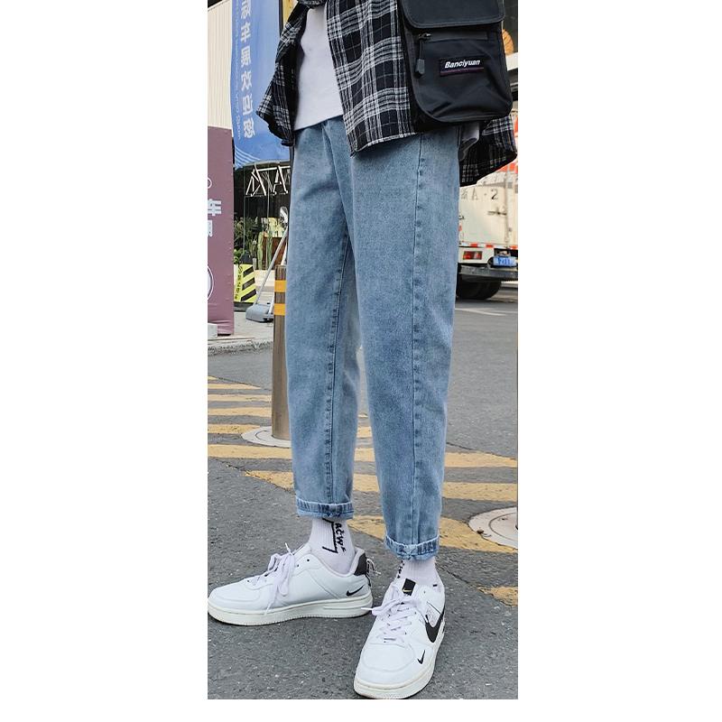 NEW Jeans Men Male Jeans Mens Men'S Classic Fashions Pants Denim Biker Pant Slim Baggy Straight Trousers Designer