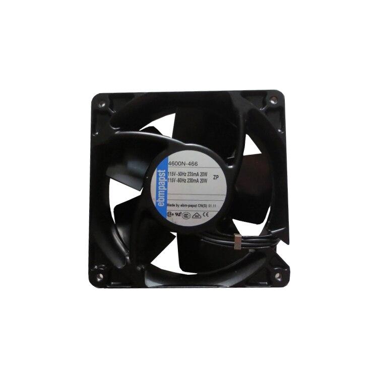 for 1 pcs ebmpapst 4600N Fan AC 115V 20W 120 × 120 × 38mm