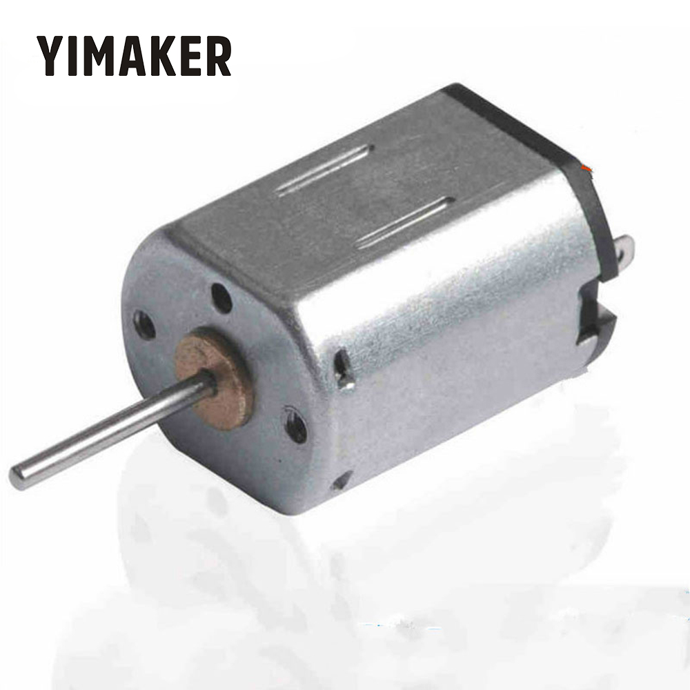 YIMAKER 2 pièces N20 Long axe Moteur à courant continu 6V 15000 RPM/Min jouet moteurs accessoires modèle faisant des pièces bricolage télécommande voiture Moteur