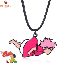 Manga Ponyo on the Cliff Necklace Miyazaki Works Cute Ladies Accessories gifts