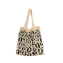 Fashion Lady Shoulder Bag Short Trip Design Soft Knit Bag Reusable Casual Ladies Beach Handbag Luxury High Capacity Open Pocket fashion lady shoulder bag short trip design soft knit bag reusable casual ladies beach handbag luxury high capacity open pocket