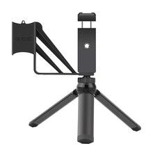 Do etui na telefon składany statyw 3.5mm Adapter mikrofonu dane mikrofon przewodowy do DJI Osmo Pocket 2 Camera Extension akcesoria