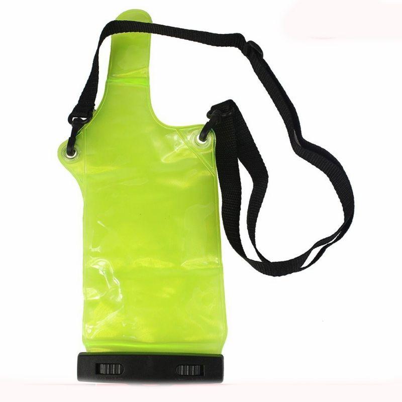 Green Two Way Radio Waterproof Bag Case For Motorola Kenwood Baofeng UV-5R UV-B2 Quansheng Walkie Talkie Rainproof Bag
