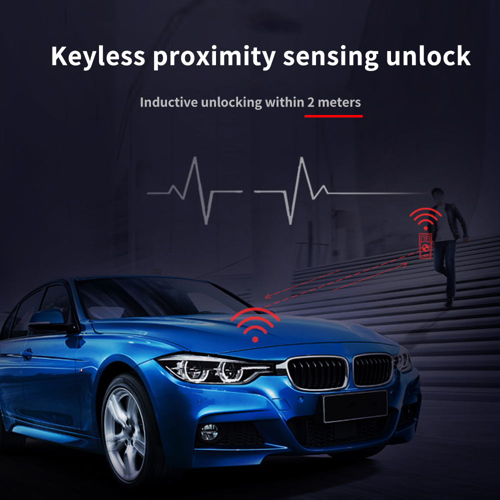 Comfort Access Keyless Entry For BMW F10 F11 5 Series Car Alarm System Central Kit Door Lock With Kick To Open The Door Function