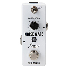 Rowin Noise Gate Noise Reduction Suppressor Guitar Effect Pedal 2 Modes True Bypass Aluminum Alloy Shell Guitar Accessories