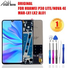 PINZHENG Original LCD For HUAWEI P30 Lite Nova 4E Touch Screen Digitizer Replacement Dipaly For HUAWEI P30 Lite Nova 4E LCD(China)