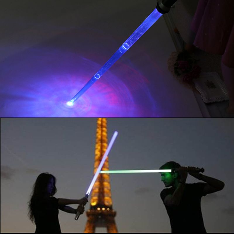 New Telescopic Lightsaber Toys Flashing Sword Cosplay Luminous Music Star Lasr Toy Swords Kids Toy Boys Gift 5