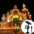 На солнечной энергии небесно-звездный лазерный проектор сценический светильник водонепроницаемый открытый пейзаж парк сад Рождественска...