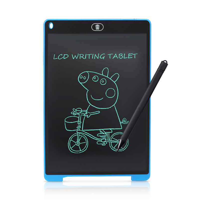 Graphics Tablet Electronics Drawing Tablet 12Inch Digital LCD Writing Tablet with Pen Stylus For Drawing Board Smart Notebook image