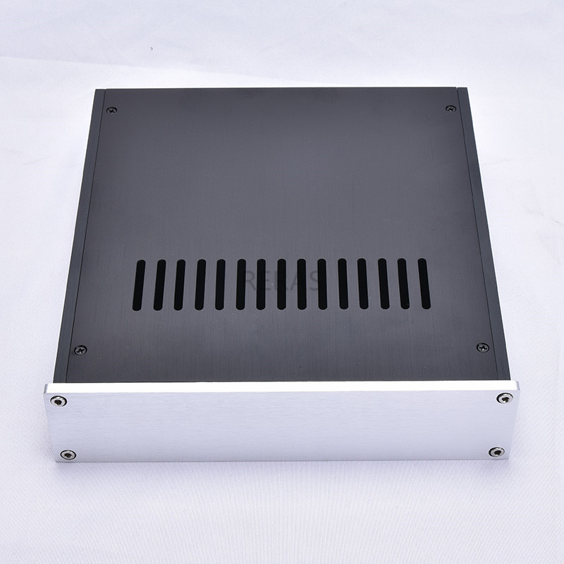 T-2205 Full Aluminum Headphone Enclosure Amplifier Chassis DAC Box Premplifier Case BZ2205B