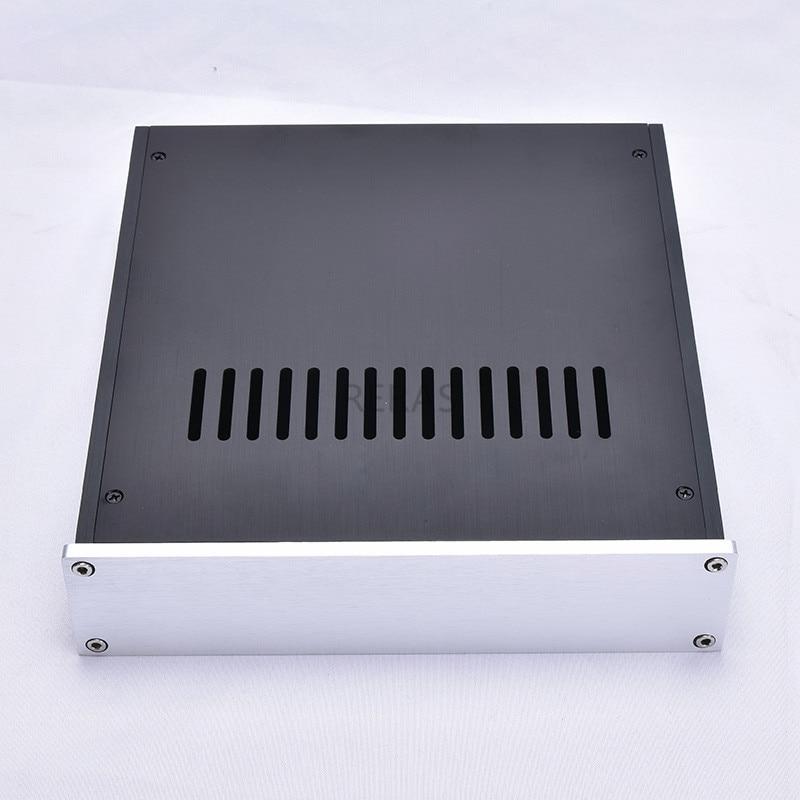 T-2205 Full Aluminum Headphone Enclosure Amplifier Chassis DAC Box Premplifier Case BZ2205B