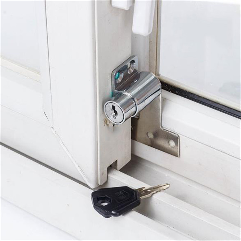 Children Window Safety Lock Anti-Theft Lock Zinc Alloy Window Buckle Limiter Safety Locks Baby Protection Supplies Practical