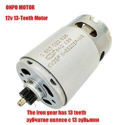 ONPO-motor de KV3SFN-8520SF-WR para taladro eléctrico BOSCH, 10,8 V, 13 dientes, 1607022628, destornillador, piezas de mantenimiento