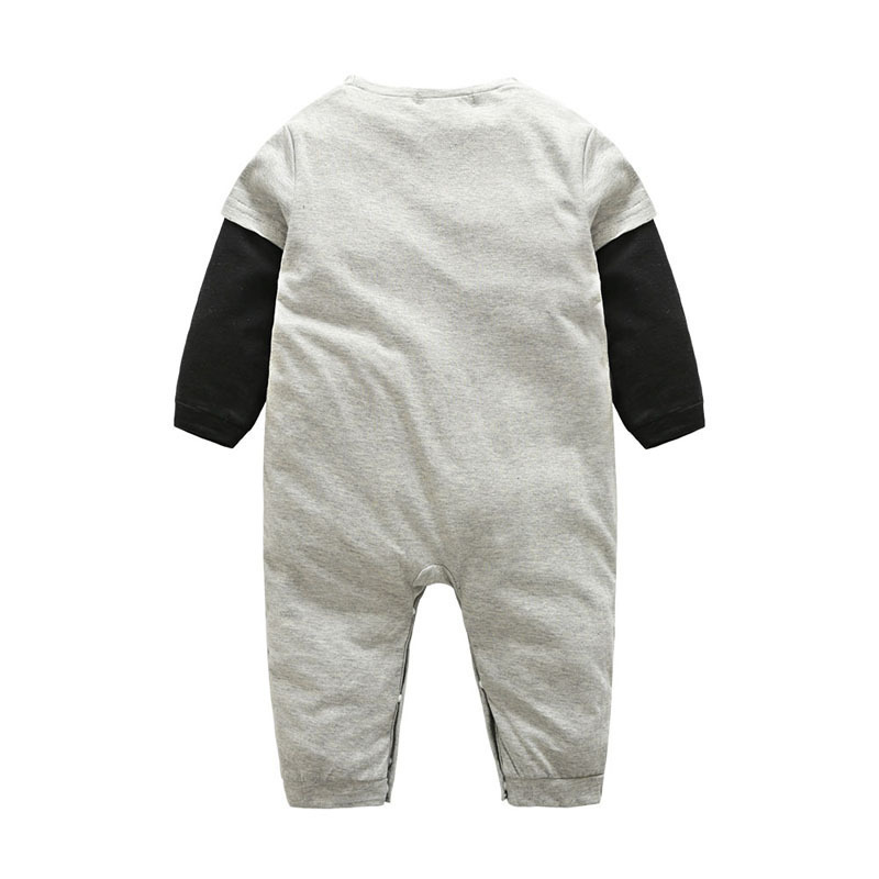 Baby Rompers Newborn Boy Clothes Full Sleeve Cotton Clothing Infant Jumpsuit Ropa Boy Girl Playsuit Costume 40 in Rompers from Mother Kids