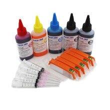 CISSPLAZA 1set PGI-570 pgi570 refillable ink cartridges compatible for canon MG5753 MG6850 MG6851 MG6852 MG6853 TS5055 printer