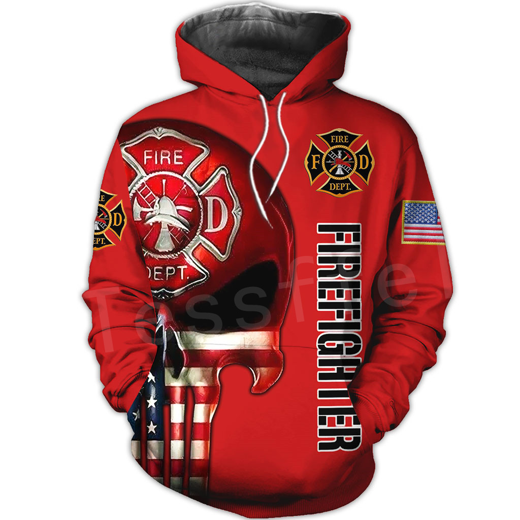 Tessffel Firefighters Suit Firemen superhero Harajuku Tracksuit NewFashion 3DPrint Zipper/Hoodies/Sweatshirt/Jacket/Men/Women 13