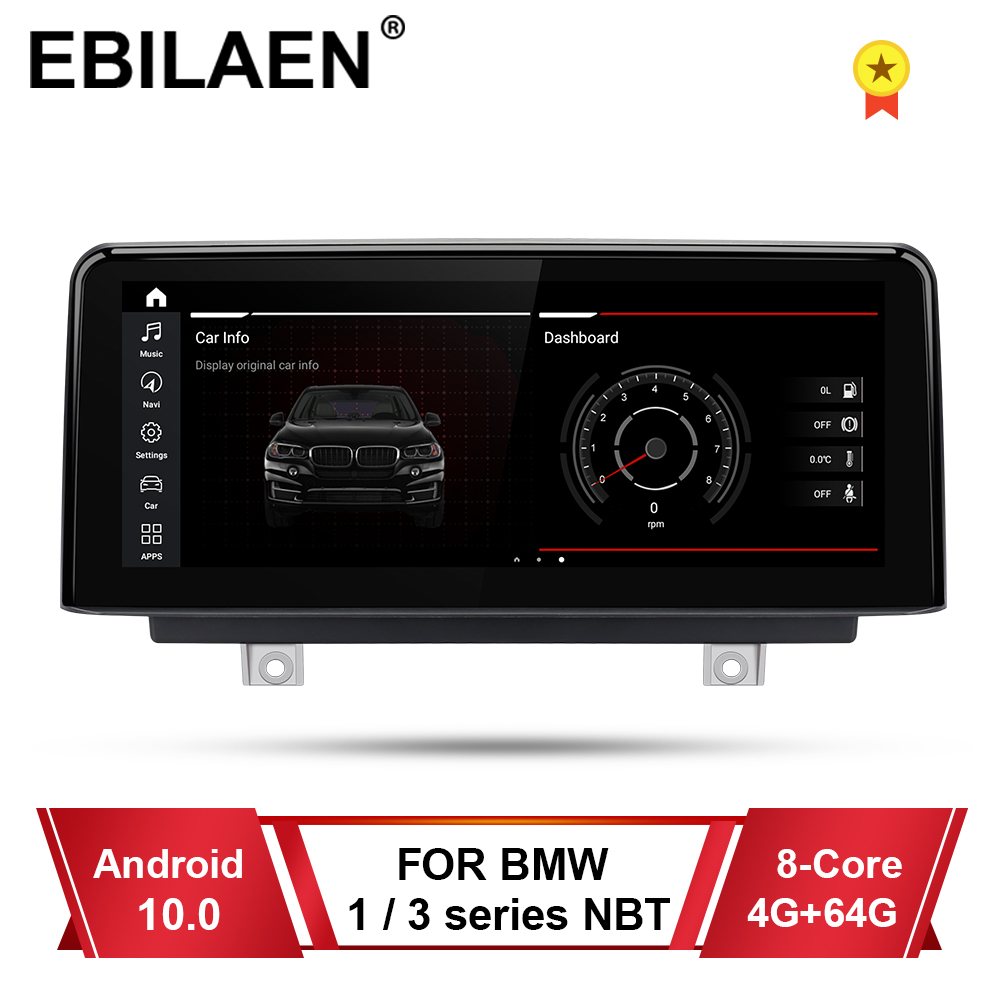 EBILAEN Car Radio Multimedia For BMW F30 F31 F22 F34 F32 F33 F20 F21 NBT System Unit PC Android 10.0 Autoradio Navigation GPS(China)