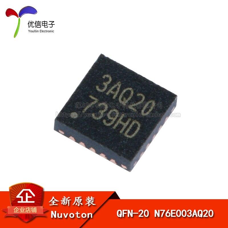 Оригинальный патч N76E003AQ20 QFN-20 1T 8051 одночиповый