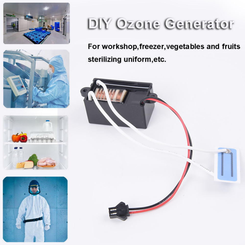 Clean Ozone Generator For Air Purifier Water Vegetable Food Sterilizer Ozonator Small Air Conditioning Appliances