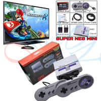 Drop Super HD HDMI Output SNES Retro Classic Handheld Video Game Player TV Mini Game Console Built-in 21 Games with Dual Gamepad