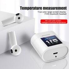New M6 Wireless Bluetooth Earphones TWS Touch Control Headphones Charging Box LC