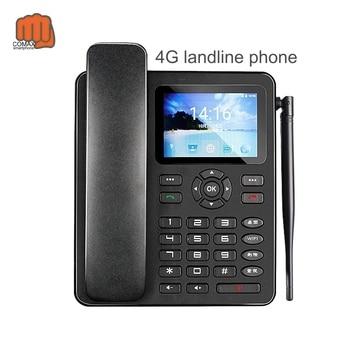 2020 new Smart 4G LTE Wireless Landline Phone Android OS  internation  GSM/WCDMA/LTE Office Phone m281 2g gsm desk phone sim based wireless landline telephone