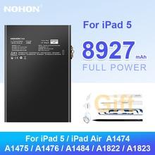 Nohon Tablet Battery for iPad 5 iPad5 A1474 Bateria for iPad Air A1823 A1475 A1476 A1484 A1822 Replacement Batteries